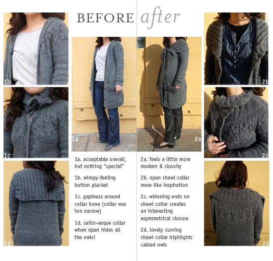 Before & After: Deconstruction of a Knitted Sweater